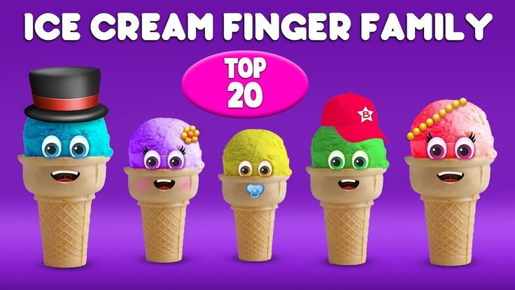 Ice Cream Finger Family Song | Top 20 Finger Family Songs | Daddy Finger Rhyme Thanks You For Watching !!!  The Song Lyrics :  Daddy finger daddy finger where are you?  Here I am here I am. How do you do?  Mommy finger Mommy finger where are you?  Here I am here I am. How do you do?  Brother finger Brother finger where are you?  Here I am here I am. How do you do?  Sister finger Sister finger where are you?  Here I am here I am. How do you do?  Baby finger Baby finger where are you?  Here I…