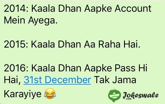 Kaala+Dhan+(Black+Money)+Aapke+Pass+Hi+Hai+(Funny+Joke+in+Hindi)