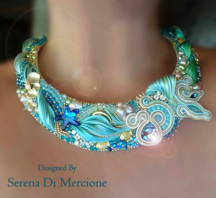 Serena Di Mercione shibori necklace
