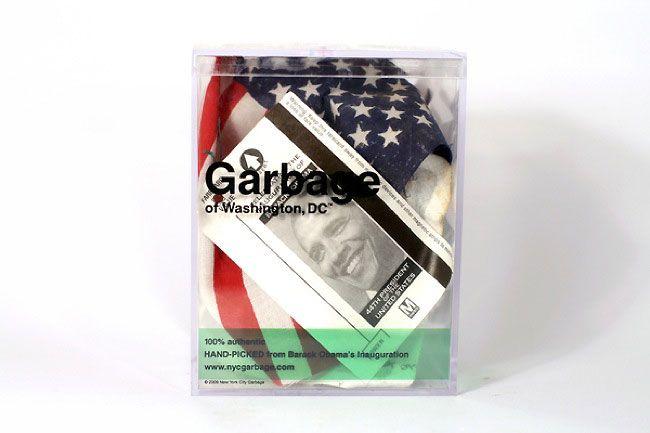Justin Gignac sells NY garbage