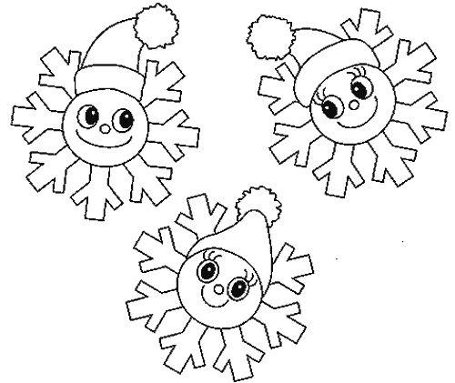muñecos de nieve de navidad para colorear - Buscar con Google