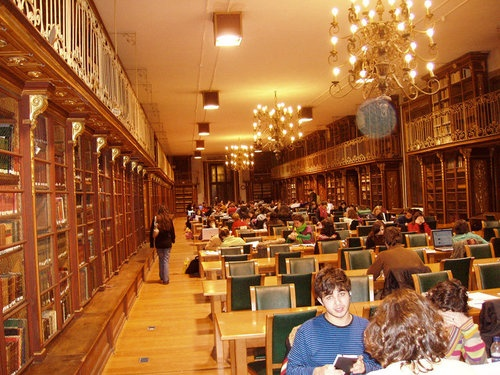 Biblioteca da Facultade de Historia,Santiago de Compostela