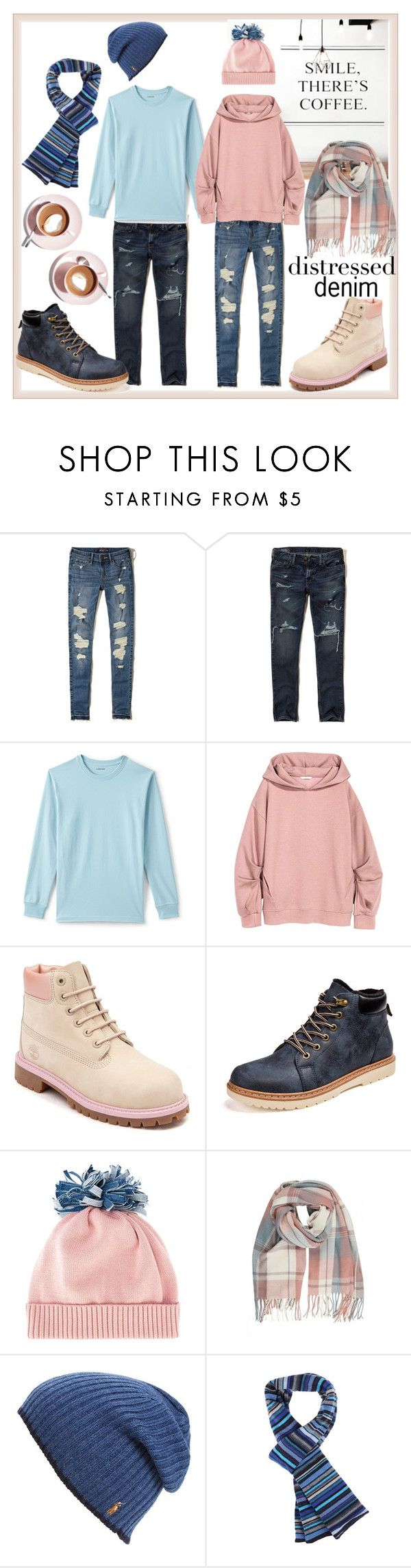 """""""coffee with him"""" by kc-spangler ❤ liked on Polyvore featuring Hollister Co., Lands' End, Timberland, Federica Moretti, Polo Ralph Lauren, Paul Smith and Martha Stewart"""