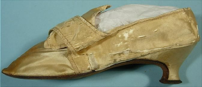 c. 1780 RARE Lady's Shoe. Belonged to ABIGAIL ADAMS (Wife of the 2nd US President John Adams - in office May, 1789 - March 1797).