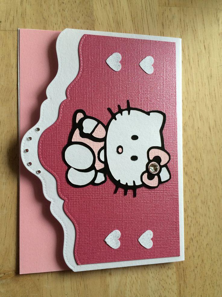 Hello Kitty - børnekort