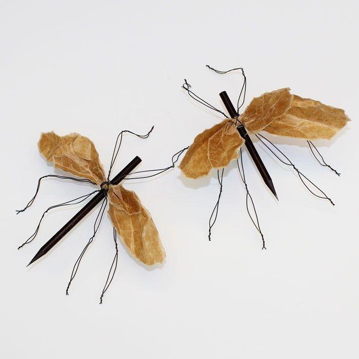 Mygga i metalltråd - Slöjd-Detaljer