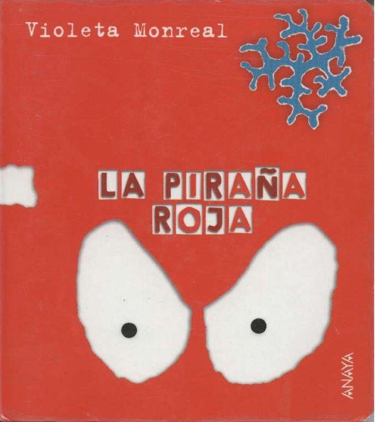 La piraña roja  Libros Infantiles