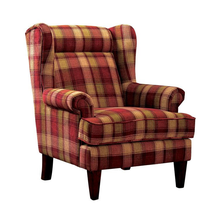 nevah red accent chair