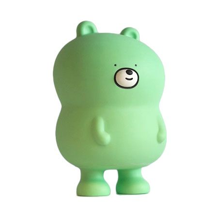 Bearycalm : Mint by Bubi Au Yeung ~ Bearycalm is a limited-edition (300) vinyl toy that has special powers. Unlike other toys, Bearycalm has the power to bring harmony and balance to your life and home. No matter if you're sad or angry Bearycalm is there for you. Bearycalm is the first creation by the artist duo composed by award-winning designer and illustrator Bubi Au Yeung and award-winning designer and illustrator Camilo Bejarano.