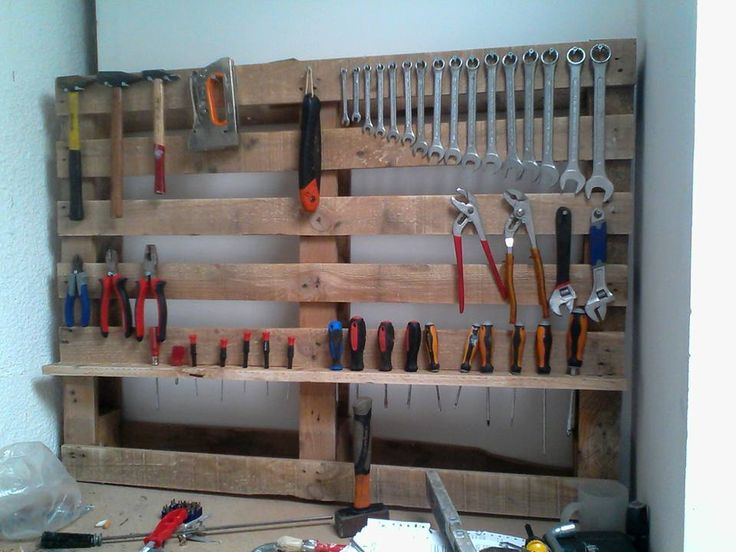 17 meilleures id es propos de rangements d 39 outils sur pinterest organ - Fabriquer un porte outils de jardin ...