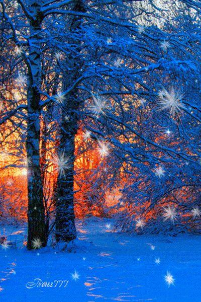 """✳ Хоть зима приходит к нам    ✳ непрошенной, Холод, ветер и мороз несёт... Всё же есть в зиме что-то хорошее,    ✳ Ну, хотя бы праздник - Новый Год.  А ещё есть святки неизбежные, И катания, конечно, на катке,        ✳ И баталии с друзьями снежные, И подлёдная рыбалка на реке.  И кусты, украшенные инеем,                          ✳ Шапки снега, что оделись на дома. Как хорошо, что всё же есть красивое Время года, под названием """"ЗИМА""""!!!✳   © Марина Головко. ✳"""