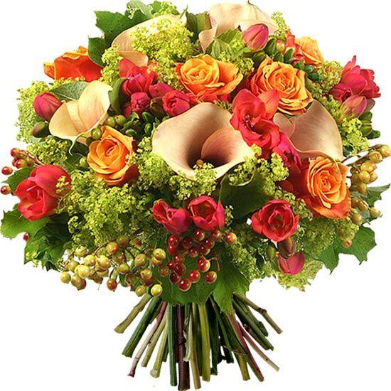 Bouquet de fleurs voici un ravissant bouquet for Envoi de bouquet