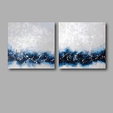 Resultado de imagen de pinturas al oleo en tonalidades azules