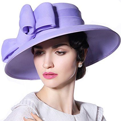 e5459e95f72 June s Young Women Hat Sun Hat Organza Fashion Hat Purple Review ...