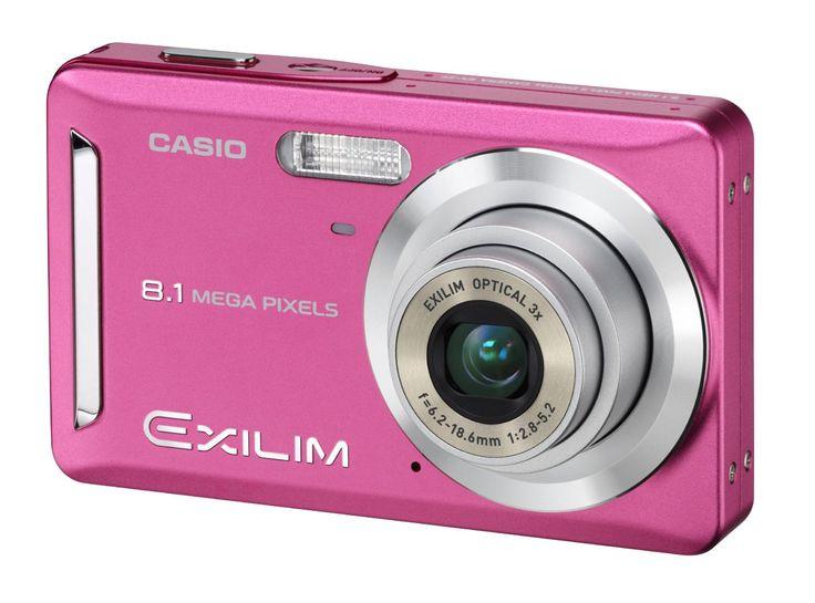 pinkThings Pink, Pretty Cameras, Colors, Pink Casio, Pink Cameras, Pink Things, Digital Cameras, Casio Exilim, Orange Cameras