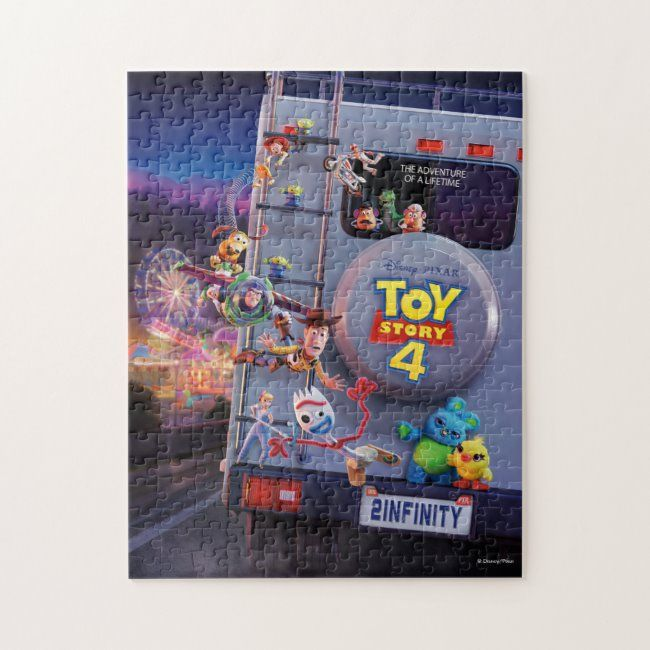 Toy Story 4 | Toys Riding RV Theatrical Poster Jigsaw Puzzle #toy #story #4 #disney #pixar #JigsawPuzzle #puzzles #jigsa…