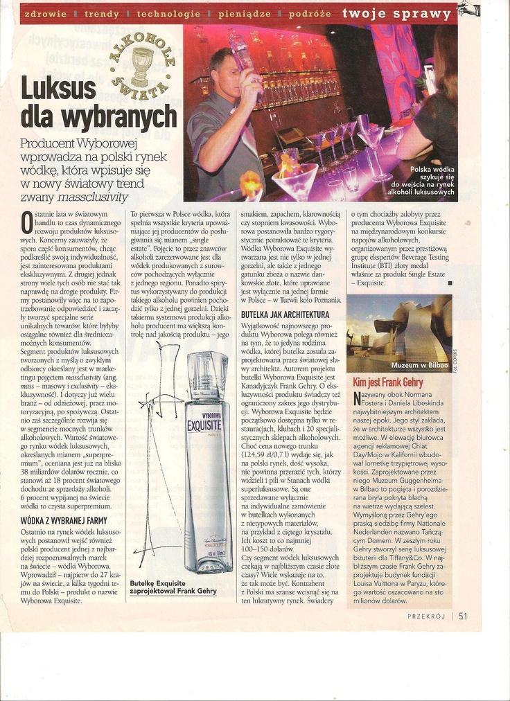 Wódka Wyborowa (Przekrój)