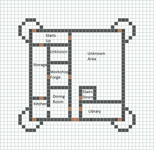 Minecraft House Blueprints 07
