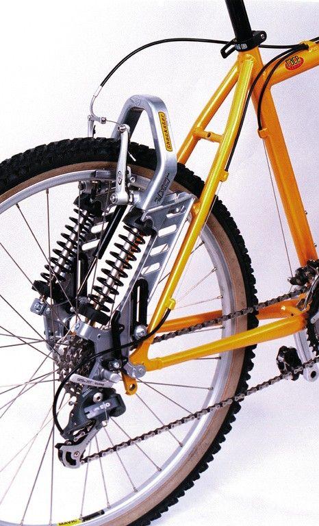 Bike control shockster turn a hard tail into a full suspension bike