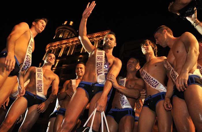 Israel Acevedo in ES collection speedo Mr. Gay Spain 2010