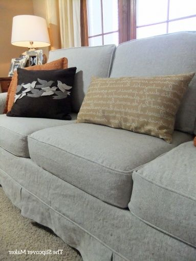 Linen Slipcovers For Sofas