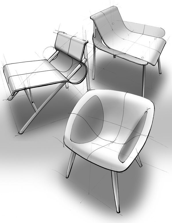 Etta, A Chair on Behance #id #industrial #design #product #sketch