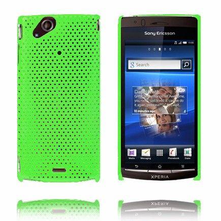 Atomic (Grønn) Sony Ericsson Xperia Arc Deksel