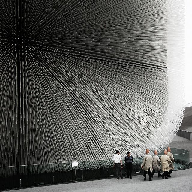 Uk Pavilion At Shanghai Expo 2010 By Heatherwick Studio
