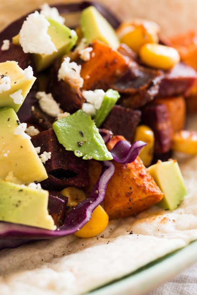 Sweet Potato Sheet Pan Tacos Image