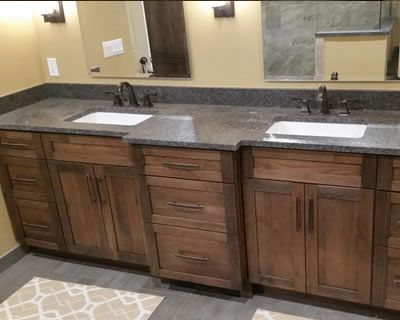 Steel Gray Leathered Countertop In 2019 Leather Granite
