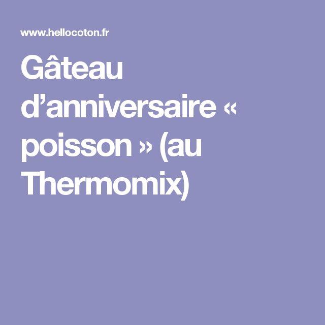 1000 idées sur le thème Gâteaux Danniversaire De Poissons