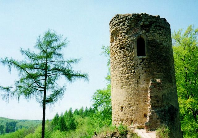 Zřícenina hradu Cimburk, Chřiby