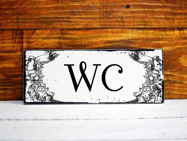 25 best ideas about wc schild auf pinterest dekoration. Black Bedroom Furniture Sets. Home Design Ideas