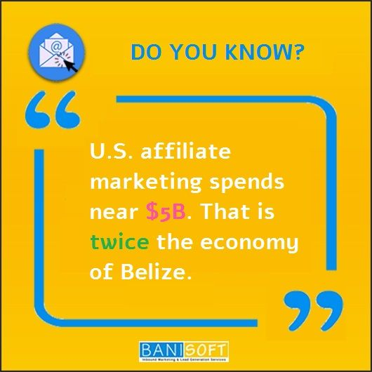 The interesting facts about affiliate marketing that every affiliate marketer should know.