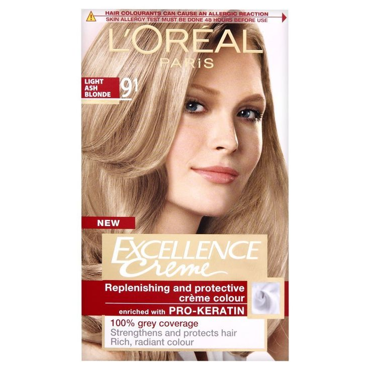 L Oreal Excellence Permanent Hair Colour 9 1 Light Ash Blonde Want To Know More Click On The Image Dyed Blonde Hair Natural Hair Color Hair Dye Colors