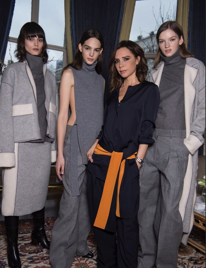 Presenting the new autumn winter 17 Victoria, Victoria Beckham collection. #VVBAW17