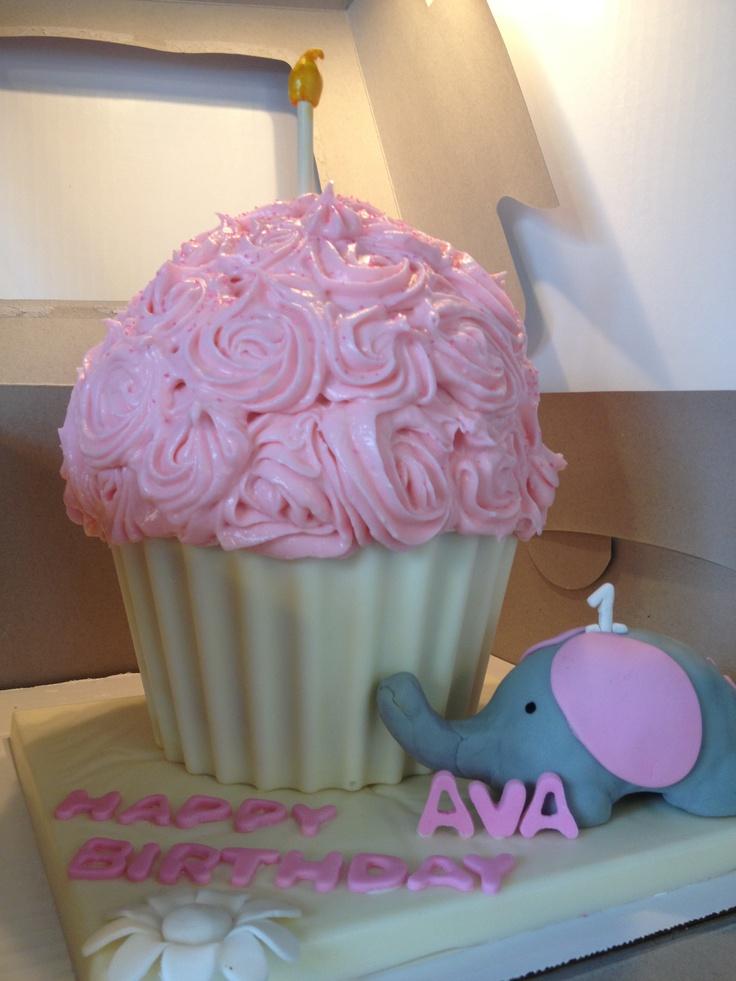 Cupcake Cake First Birthday