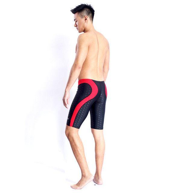 Swimsuit Boys Swimwear Men Swim Trunks Boxer Mens Swimming Trunks Shorts Competition Sharkskin Swimsuits