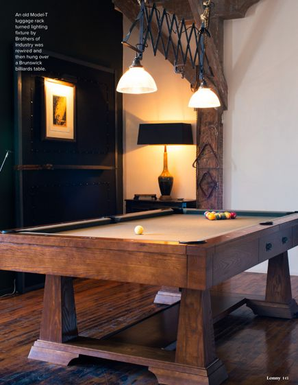 Spiffy well designed pool table Lonny Oct 2013