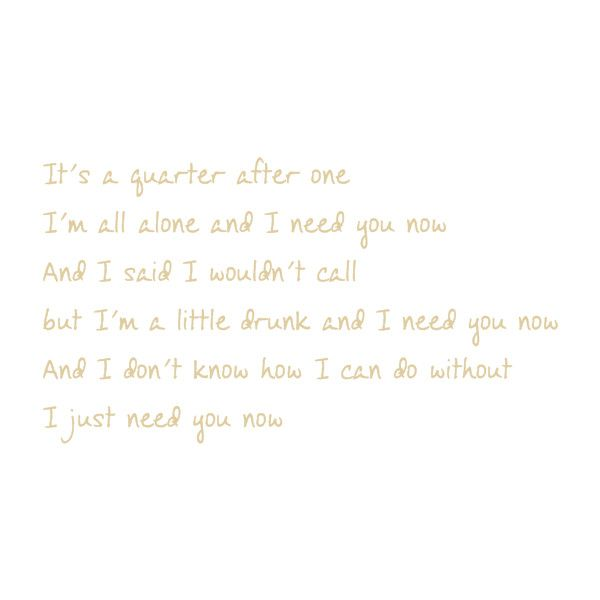 FG Abby - Fonts.com, lady antebellum, need you now, lyrics ❤ liked on Polyvore