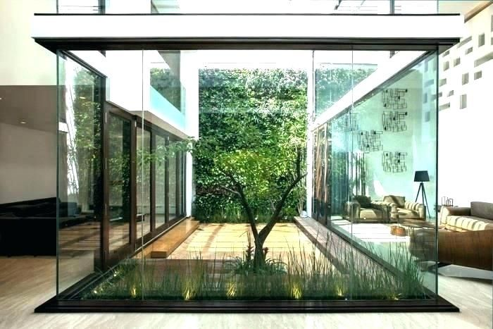 Modern Indoor Garden Modern Indoor Garden Home Garden Indoor Indoor House Garden Indoor House Garden Sophist Courtyard House Plans Courtyard House Atrium House