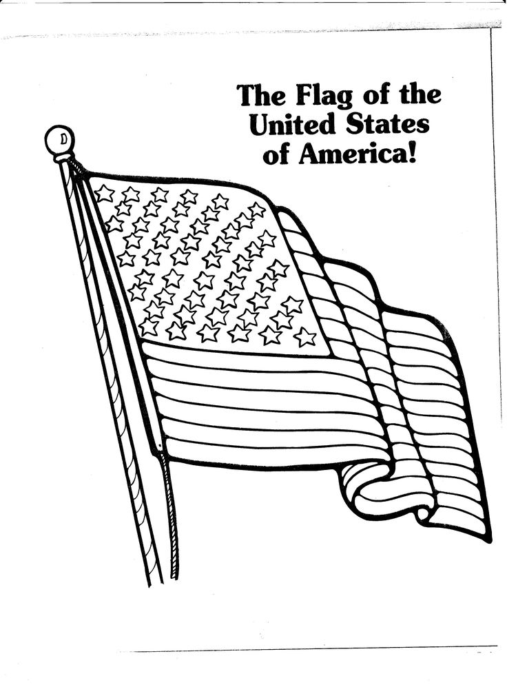 american flag coloring page Flag coloring pages