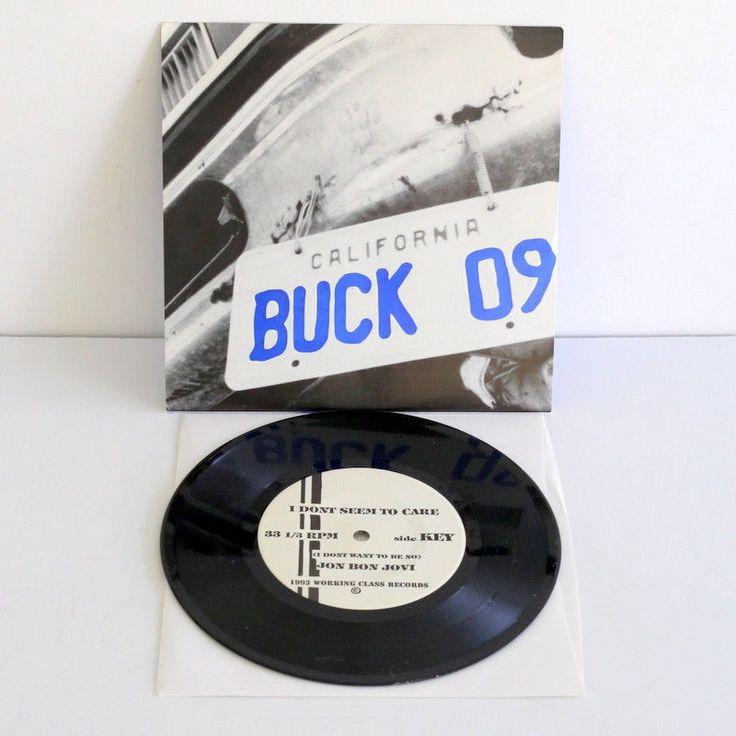 """BUCK O NINE four song Ep 7"""" Vinyl Record 1993 , ska punk #punkPunkNewWave"""