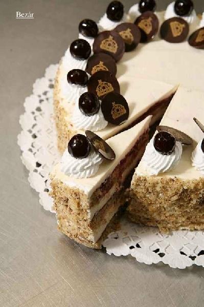 Pándi sour cherry cake - The Cake of Hungary - ország tortája 2009 Pándi meggytorta