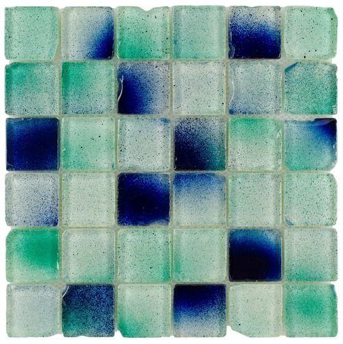 Glass Mosaic Tile Fiji 2x2