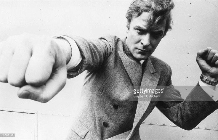 English actor Michael Caine, originally Maurice Micklewhite