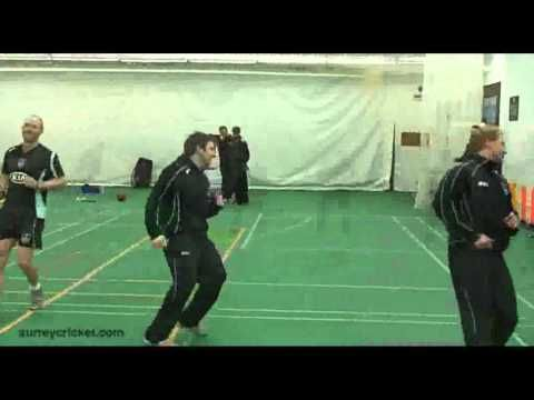 Fielding drills at the Kia Oval - http://crickethq.net/fielding-drills-at-the-kia-oval/