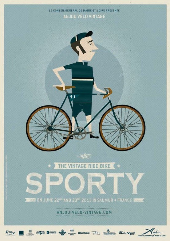 Previous pinner: We're so looking forward to the Anjou Vintage Velo extravaganza in June - already planning our outfits! Will Mr Songbird emulate this 'sporty' look...