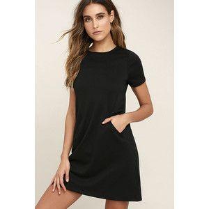 Chloe Black Shift Dress