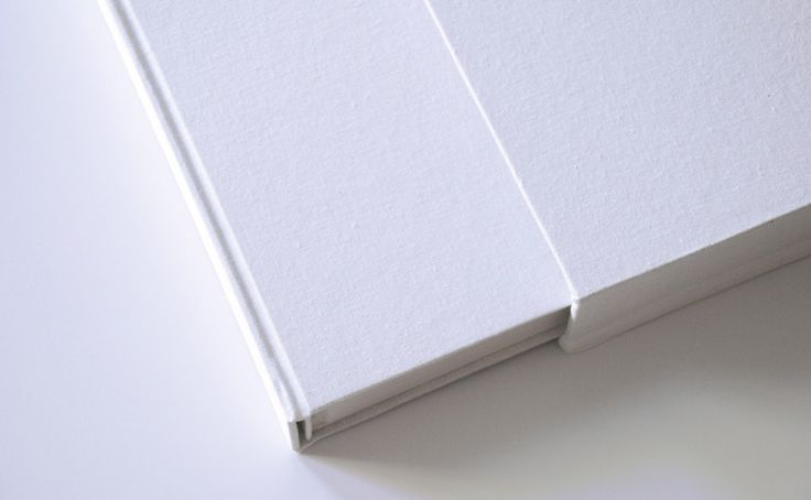 Albums – All white album with hard cover 30x30cm 40 pages – a unique product by Kajet on DaWanda